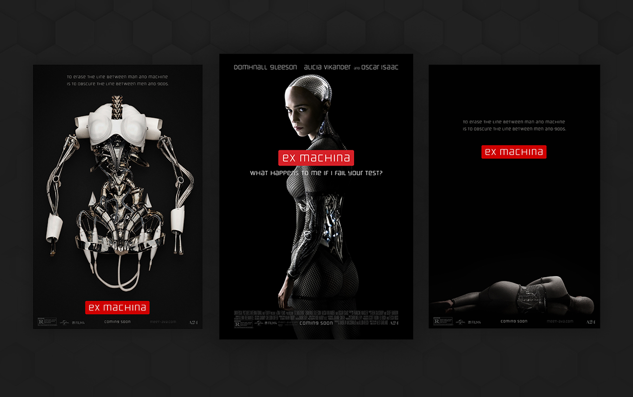 Lab Sans Pro in the movie posters of Ex Machina.